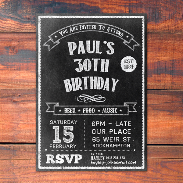 Birthday | City Printing Works