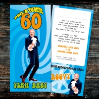 DL Austin Powers Birthday Invitation