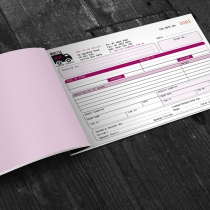 A5 Consignment Note Books