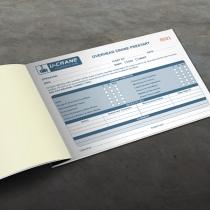 A5 Pre-Start Checklist Books