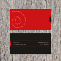 Business Cards 90 x 45mm