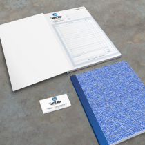 A4 Tax Invoice Book