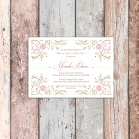 A6 Bridal Shower Invitation