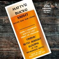 DL Buck\'s Night Invitation