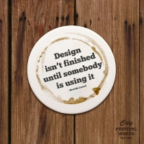 Drink Coasters - Round & Square (with rounded corners)
