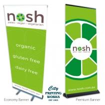 Pull Up Banners - Economy & Premium
