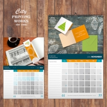 Calendars - A5 Saddle Stitch and A4 Spiral Bound