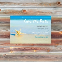 A6 Save the Date Announcement