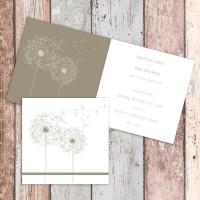 145mm Square Folded Wedding Invitation